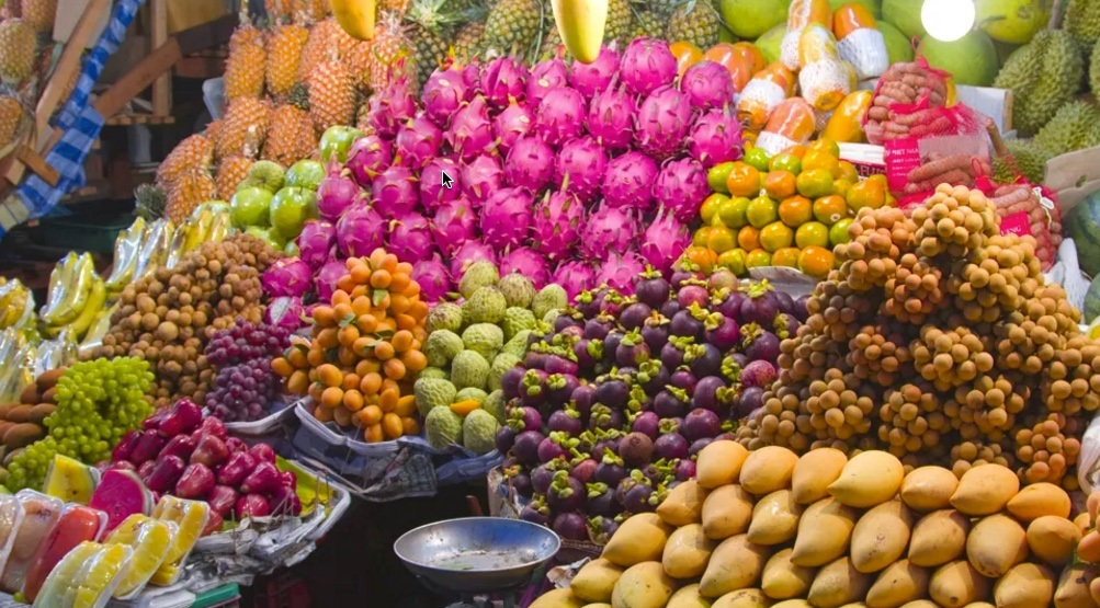 Exotic Fruits in Medellin