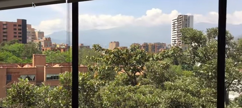 Penthouse View in Medellin